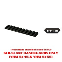 "YHM- 4"" Rail for the Customizable Forearm System (Slant Series Only)"